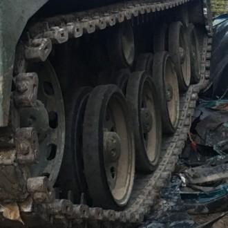 Bratislava Car Demolition with Tank