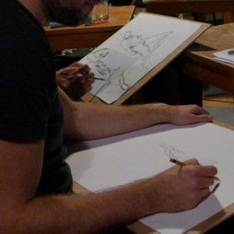 Bratislava Nude Live Drawing