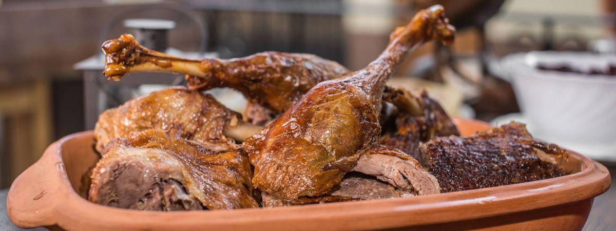 Bratislava Roasted Goose Dinner