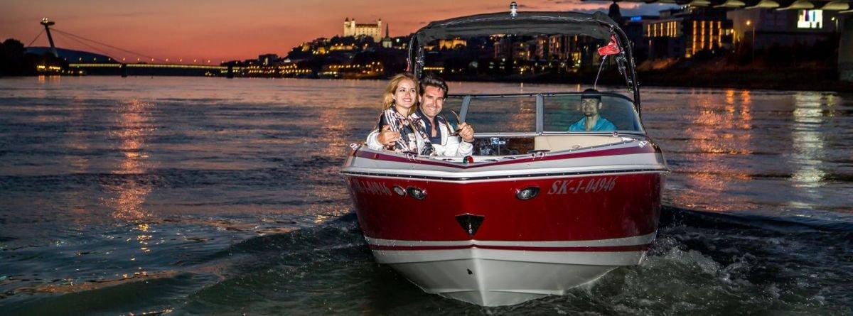 Bratislava Speed Boat Cruise