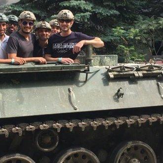 Bratislava Tank Riding