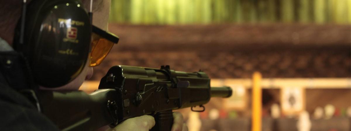 Bratislava AK 47 Shooting