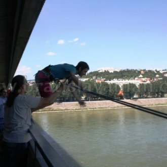 Adrenaline Bratislava Stag Jump From Bridge Free Fall