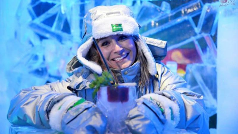 The coldest Ice bar in Bratislava