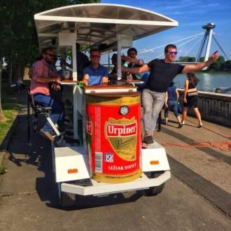 Bratislava Beer Bike